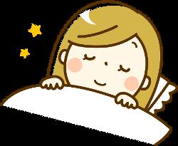 睡眠は白髪にも影響